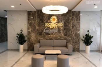 Cho thuê căn hộ Richmond mặt tiền Nguyễn Xí đối diện Vincom giá 12 triệu/th 2PN/2WC LH 0938595337