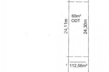 Chủ cần bán đất phường Hiệp Thành 4.66x24m, TC 60m2 đường bê tông 5.3m, 2.05 tỷ rẻ nhất khu vực