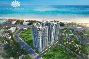 Cần bán gấp căn hộ Vũng Tàu Pearl, 2PN 2 WC, view biển tầng cao, giá rẻ 2.950 tỷ, 0792366350