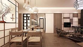 Cho thuê CC Sky center Tân Bình DT 75m2, 2PN, nội thất đầy đủ giá 16tr/th. LH: 0932 139 007