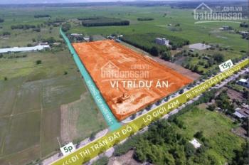 Đất nền Bà Rịa full hạ tầng 6x18 (100m2 thổ cư) 800tr/nền thanh toán 6 tháng