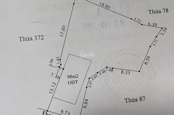 Cần bán đất tại Hưng Định, diện tích 610m2, thổ cư 398m2.
