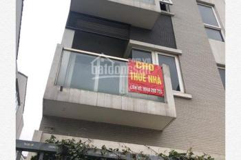 Chính chủ muốn cho thuê căn 4 tầng nhà mặt phố ở Nam Trung Yên, Trung Kính, Cầu Giấy. S: 100m2