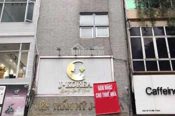 Bán nhà mặt tiền phố Nguyễn Bỉnh Khiêm, Hai Bà Trưng 38m2 x 6 tầng, MT 5m, xây mới 2018