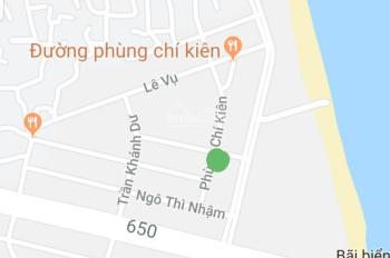 Cần bán lô đất sát biển, cạnh bãi tắm, thích hợp xây khách sạn tại Tuy Hòa, Phú Yên