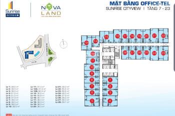 Cần bán Officetel Sunrise City View SCB-06.10 ngay tầng hồ bơi, tầng Gym, giá 2 tỷ, 39m2