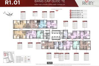Bán căn góc 3 phòng ngủ full nội thất ban công TB - ĐB giá chỉ 3,6 tỷ
