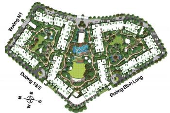 Bán căn 2PN khu Emerald Celadon Tân Phú 71m2 block F tầng trung view nội khu 2.95 tỷ, TT 50%