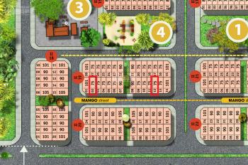 Bán đất liền kề 75m2 giá gốc đợt 1 FLC Tropical City Hạ Long, LH em Cường: 0965641993