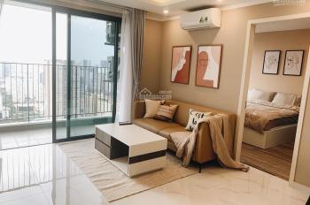 Cho thuê căn hộ 1105 Sun Grand City Thụy Khuê: Studio 50m2, đầy đủ đồ, view hồ, giá đề xuất 15tr/th