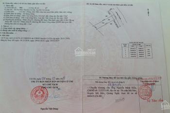 Cần bán gấp lô đất chính chủ xã An Phú, Củ Chi, diện tích 125,5m2