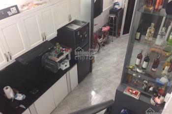 Nhà full nội thất 1 trệt 2 lầu 3x7m đường số 6, P.4, giá 16,5 triệu/m2, Tel 0906856614 Sang