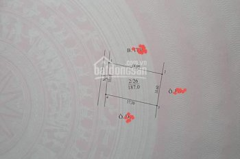 Chính chủ cần bán gấp nhà 2 tầng, khu chợ Sấu xã Dương Liễu - Hoài Đức, Hà Nội