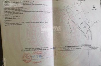 Bán đất nông nghiệp chính chủ có sổ đỏ tại phường 5, Đà Lạt, Lâm Đồng, liên hệ: 0889.787.688