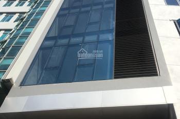 Cho thuê nhà mặt phố Nguyễn Khánh Toàn, Cầu Giấy. DT 75m2, 8 tầng, MT 6m, giá 63tr/th LH 0961258683