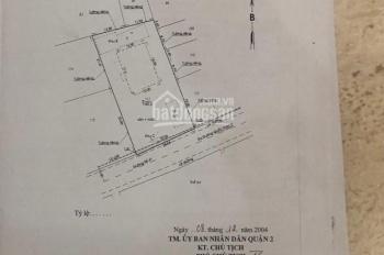 Bán gấp mặt tiền đường Trần Não, Bình An, Quận 2. DT 13x55m nở hậu, giá 200 triệu/m2
