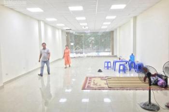Nhà mặt phố Trung Hòa, thông sàn có thang máy. Diện tích 140m2 x 6 tầng, mặt tiền 6m, hè rộng