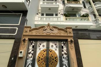 Bán nhà đẹp sang trọng hẻm XH, P15 Q. Tân Bình DT 4m (nở hậu 4,6m) x 24m. Nhà mới 100%, sổ hồng