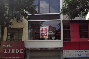 Cho thuê nhà ngõ 100 Trần Đại Nghĩa, 50m2 x 4 tầng, mặt tiền 3,5m, thông sàn, 0974557067