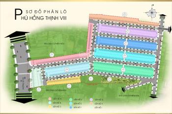 Cần bán gấp đất TP. Thuận An, DA Phú Hồng Thịnh 8, Bình Chuẩn, 60m2 chỉ 23tr/m2, sổ hồng, xây tự do