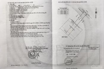Đất MT Nguyễn Hữu Tiến DT 4x17 Giá 7.6 Tỷ