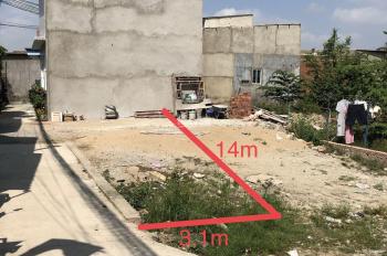 Bán đất 2 mặt tiền sau lưng chợ Hoá An