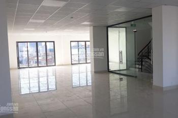 Cho thuê sàn VP, KD gym, spa... Tại tòa nhà mặt phố Nguyễn Thái Học, DT 370m2 giá thuê 55tr/th