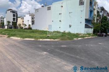 Cần bán lại lô đất góc 2 mặt tiền đường gần chợ Bà Lát, DT 210m2, sổ hồng riêng