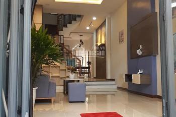 Nhà bán 3 tầng, kiệt ô tô Tôn Thất Đạm, nhà mới 100%