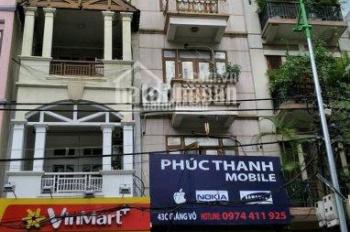 Cần bán nhà riêng 5 tầng kinh doanh tại phố Ngô Xuân Quảng - gần thế giới di động, DT: 56m2, MT: 4m