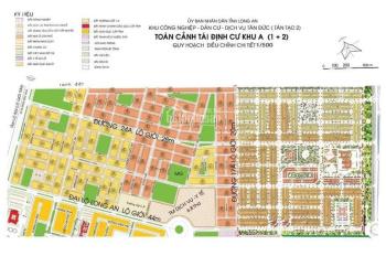 Nhận ký gửi và mua bán đất nền trong khu dân cư Tân Đức, Đức Hòa, Long An