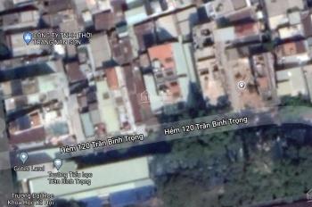 Bán đất đường Trần Bình Trọng, Quận 5, thổ cư, sổ riêng, 5x20m, giá TT 2,7 tỷ, sổ riêng chính chủ