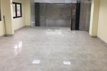 Cho thuê nhà mặt phố Nguyễn Khang 100m2 x 4T, MT 5m thông sàn. Giá 40tr/th ko giới hạn mô hình
