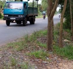 Cần bán đất mặt tiền đường du lịch Núi Bà gần cây xăng Hữu Thuận, đường đang thi công
