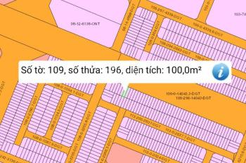 Bán đất mặt tiền dự án HUD, Xây Dựng Hà Nội, Nhơn Trạch, giá 19,5 triệu/m2, LH: 0919533639