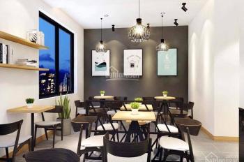 Cho thuê nhà mặt phố Tôn Đức Thắng, lô góc 90m2 x 3 tầng, MT 5,5m, lô góc 2MT thông sàn giá 50tr/th