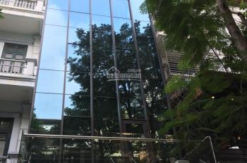 Cho thuê mặt phố làm văn phòng , phòng khám...tại Nguyễn Khang . DT : 130 m * 7 tầng +1 hầm