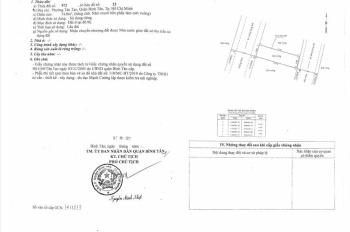 Di cư bán gấp đất mặt tiền Hồ Văn Long sổ đỏ chính chủ giá 1,9 tỷ