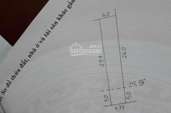 Gia chủ cần tiền bán lô đất thổ cư sổ đỏ DT 166m2, vị trí Vĩnh Bảo Vĩnh Khúc, Văn Giang