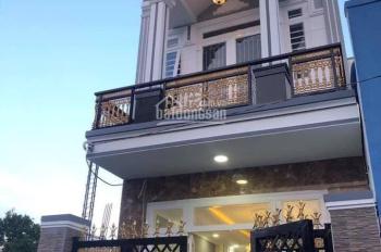 Nhà sổ riêng, 1 trệt, 1 lầu, 100m2 mặt tiền đường 8m, giá bán 1 tỷ 600 triệu