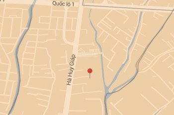 Bán đất 1 sẹc Hà Huy Giáp, cạnh bên Cao đẳng Kinh Tế Công Nghệ, DT: 75m2, giá 4ty050, sổ riêng
