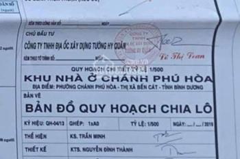 Khu dân cư Chánh Phú Hòa thị xã Bến Cát