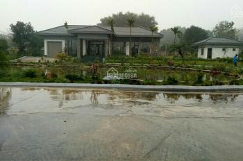Cần chuyển nhượng khu biệt thự nghỉ dưỡng rộng 5200m2 tại Cư Yên Lương Sơn giá rẻ