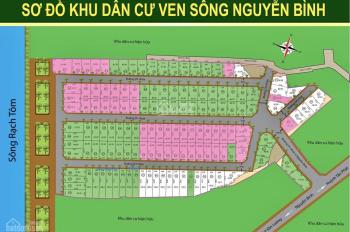 Bán gấp đất nền khu dân cư ven sông Nguyễn Bình, 100m2, chỉ 30tr/m2, liên hệ: 0794888833