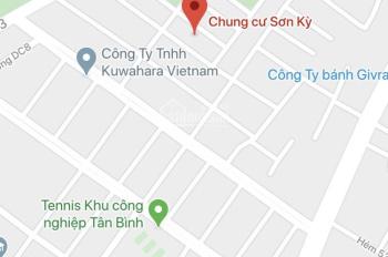 Bán gấp căn hộ CC Sơn Kỳ, DT 58m2, đường CC5 (DC9 đi vào), Sơn Kỳ, Tân Phú. 0867.457.228