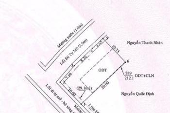 Bán đất lô gốc, gần UBND Hiệp Thành