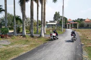 Bán đất Long An giá rẻ gần chợ Mỹ Hạnh Nam, DT: 115m2 full thổ giá 805 triệu, 09344.355.79 Đạt