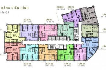 Chính chủ bán cắt lỗ căn hộ 3PN - CC King Palace - 108 Nguyễn Trãi - giá 32tr/m2. LH 088 627 6092