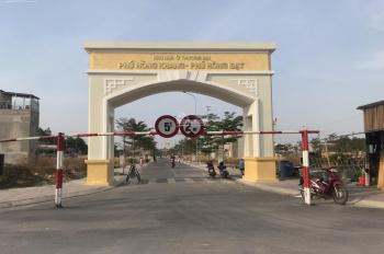 Bán lô đất Phú Hồng Thịnh Thuận An - Phú Hồng Khang 65m2 giá 1 tỷ 410 triệu, sổ hồng riêng