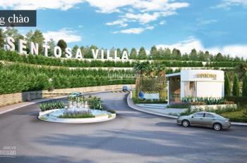 Cần bán nhanh nhiều nền Sentosa Villa, 250m2, 300m2, đã nhận nền, giá đầu tư. 0908.605.312